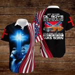Confederate States of America Flag Just the good ol'boys  ALL OVER PRINTED SHIRTS hoodie 3d 0820914