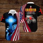 Farmer a Child of God a Man of Faith a Warrior of Christ ALL OVER PRINTED SHIRTS hoodie 3d 0819891