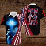 Confederate States of America Flag Southern Pride Heritage Not Hate ALL OVER PRINTED SHIRTS hoodie 3d 0820890