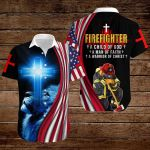 U.S. Firefighter a Child of God a Man of Faith a Warrior of Christ ALL OVER PRINTED SHIRTS hoodie 3d 0819892