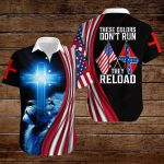 Confederate States of America Flag These colors don't run they reload ALL OVER PRINTED SHIRTS hoodie 3d 0819896
