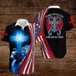 Confederate States of America Flag Stand for the flag kneel for the cross ALL OVER PRINTED SHIRTS hoodie 3d 0820915