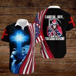 Confederate States of America Flag Carefull, boy.. I am old for good reason ALL OVER PRINTED SHIRTS hoodie 3d 0820900