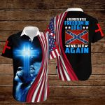 Confederate States of America Flag I reperesented freedom in 1861 I will do it again ALL OVER PRINTED SHIRTS hoodie 3d 0820905