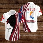 Jesus is my Savior Basketball is my therapy ALL OVER PRINTED SHIRTS hoodie 3d 0817888