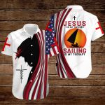 Jesus is my Savior Sailing is my therapy ALL OVER PRINTED SHIRTS hoodie 3d 0817895