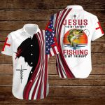 Jesus is my Savior Fishing is my therapy ALL OVER PRINTED SHIRTS hoodie 3d 0817890