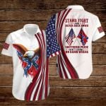 Confederate States of America Flag Stand Fight and Never back down Southern pride ain't going no damn where ALL OVER PRINTED SHIRTS hoodie 3d 0815890