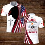 God looked down on his planned paradise and said I need a caretaker so God made a Farmer ALL OVER PRINTED SHIRTS hoodie 3d 0813891