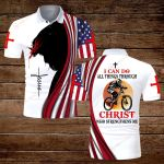 Bike I can do all things though Christ who strengthens me ALL OVER PRINTED SHIRTS hoodie 3d 0813889