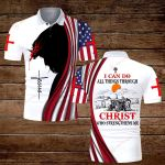 Farmer I can do all things though Christ who strengthens me ALL OVER PRINTED SHIRTS hoodie 3d 0813890