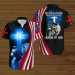 Biker Prayer Warrior Wearing the whole Armor of God ALL OVER PRINTED SHIRTS hoodie 3d 0805671