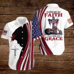 Biker Justified by Faith saved by Grace ALL OVER PRINTED SHIRTS hoodie 3d 0805667