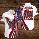 Confederate States of America Flag I will do it again ALL OVER PRINTED SHIRTS hoodie 3d 0807672