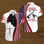 Jesus is my Rock and that's how I roll ALL OVER PRINTED SHIRTS hoodie 3d 0808666