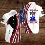 Paramedic I can do all things though Christ who strengthens me ALL OVER PRINTED SHIRTS hoodie 3d 0810676