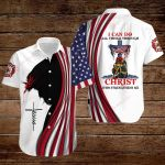 U.S. Firefighters I can do all things though Christ who strengthens me ALL OVER PRINTED SHIRTS hoodie 3d 0810673