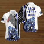 Back the Blue Police Flag American Jesus Christ ALL OVER PRINTED SHIRTS DH082408
