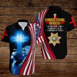 Correctional Officer A child of God A man of Faith A warrior of Christ ALL OVER PRINTED SHIRTS hoodie 3d 0822667