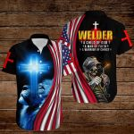 Welder A child of God A man of Faith A warrior of Christ ALL OVER PRINTED SHIRTS hoodie 3d 0822668