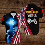 Mechanic A child of God A man of Faith A warrior of Christ ALL OVER PRINTED SHIRTS hoodie 3d 0822672