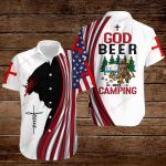 God beer and Camping ALL OVER PRINTED SHIRTS hoodie 3d 0822673