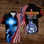 Police Officer A child of God A man of Faith A warrior of Christ ALL OVER PRINTED SHIRTS hoodie 3d 0822671