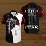 Let your faith be bigger than your Fear knight Jesus Chirstian ALL OVER PRINTED SHIRTS DH082502