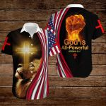 God is All-Powerful ALL OVER PRINTED SHIRTS hoodie 3d 0825666