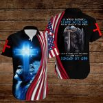 I would rather stand with God American Flag knight blue lion ALL OVER PRINTED SHIRTS DH082607