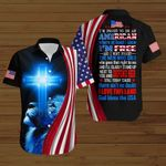 I'm proud to be a American where at least I know I'm free  ALL OVER PRINTED SHIRTS hoodie 3d 0827672