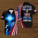 I stand for our flag I kneel for the cross pround to be American blessed to be Christian ALL OVER PRINTED SHIRTS hoodie 3d 0827668