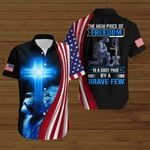 The high price of freedom is a cost paid by a brave few ALL OVER PRINTED SHIRTS hoodie 3d 0827671