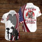 Never underestimate an old man with a DD-214 who has born in September ALL OVER PRINTED SHIRTS hoodie 3d 0828693