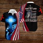 I am a son of God I was born in February ALL OVER PRINTED SHIRTS hoodie 3d 0828674