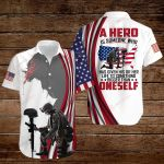 A hero is someone who has given his or her life to something bigger than oneself ALL OVER PRINTED SHIRTS hoodie 3d 0828669