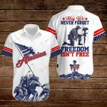 May we never forget freedom isn't free ALL OVER PRINTED SHIRTS hoodie 3d 0901669