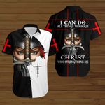 I can do all things through Christ who strengthens me woman Knight ALL OVER PRINTED SHIRTS DH090308