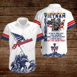 Vietnam Veteran I'm one of those guys that you hated I will never forget American Flag ALL OVER PRINTED SHIRTS DH090310