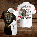 I am a daughter of God I was born in April ALL OVER PRINTED SHIRTS hoodie 3d