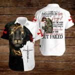 I am a daughter of God I was born in August ALL OVER PRINTED SHIRTS hoodie 3d