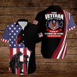 Proud Veteran but don't thank me thank my Brothers and Sisters that never came back  American Flag Jesus Christ ALL OVER PRINTED SHIRTS DH090506
