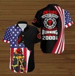 Jesus the original firefighter keeping people from burning for more than 2000 years American Flag ALL OVER PRINTED SHIRTS DH090502