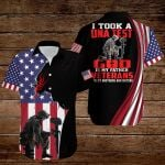 I took a DNA test God is my Father Veterans are my brothers and sisters American Flag Jesus Christ ALL OVER PRINTED SHIRTS DH090507