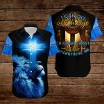 I can do all thing through Christ who strengthens me ALL OVER PRINTED SHIRTS DH090806