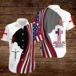 Jesus 2020 American Flag God Christ ALL OVER PRINTED SHIRTS DH090807