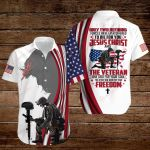 Only two defining forces have ever offered to die for you Jesus Christ and the Veteran American Flag ALL OVER PRINTED SHIRTS DH090920