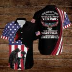 God doesn't give the hardest battles to his toughest Veterans American Flag  ALL OVER PRINTED SHIRTS DH091005