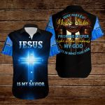 Jesus is my savior Way maker My God that is who you are ALL OVER PRINTED SHIRTS DH091004