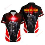Man of God Husband Dad Grandpa Knight Christian Jesus Christ ALL OVER PRINTED SHIRTS DH091002